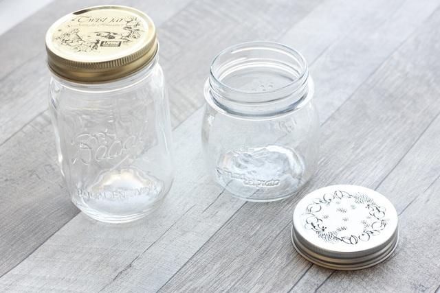 大小2種類の空き瓶