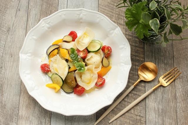 夏野菜のトルテッリ風