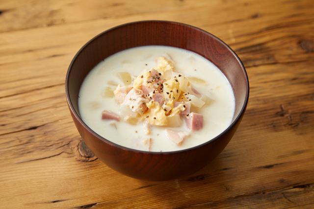卵のミルクスープ