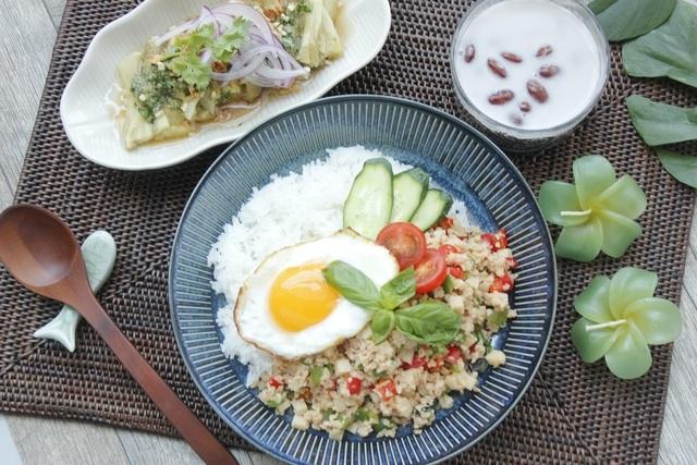 大豆ミートを使用した料理