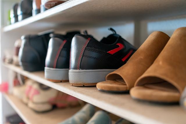 靴箱の様子