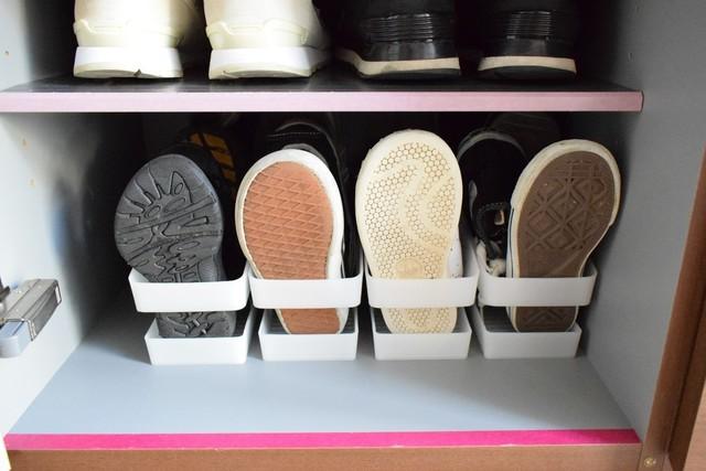 コジマジックさんのご自宅の靴箱の写真