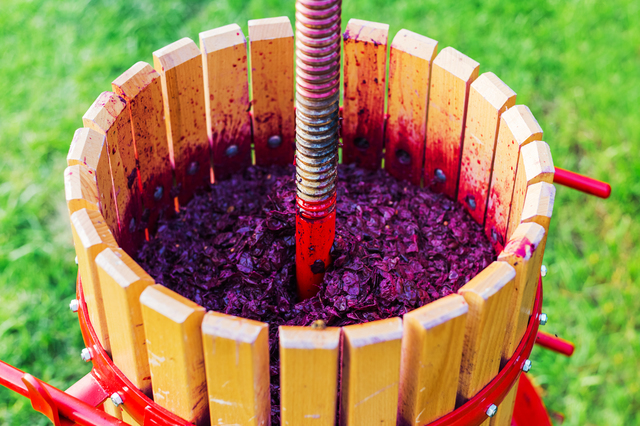 ワイン作り