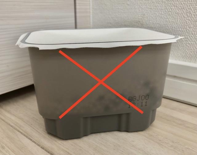 除湿剤は部屋の片隅ではなく、扉付きの収納内で使います