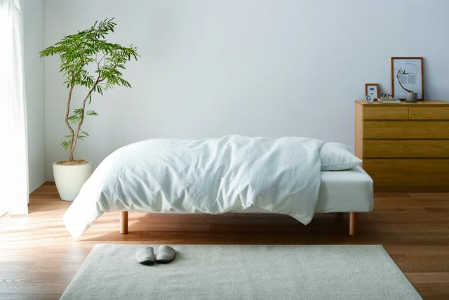 天然素材にこだわった無印良品の寝具