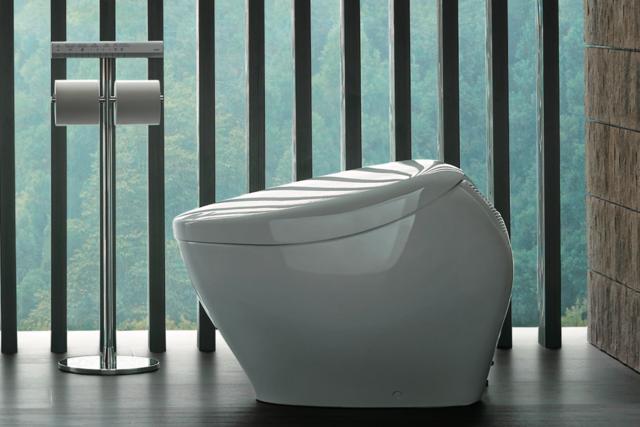 デザイン性の高いトイレ