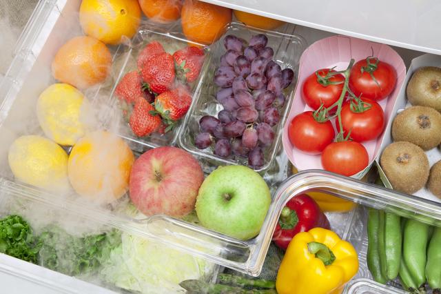 野菜室の収納例