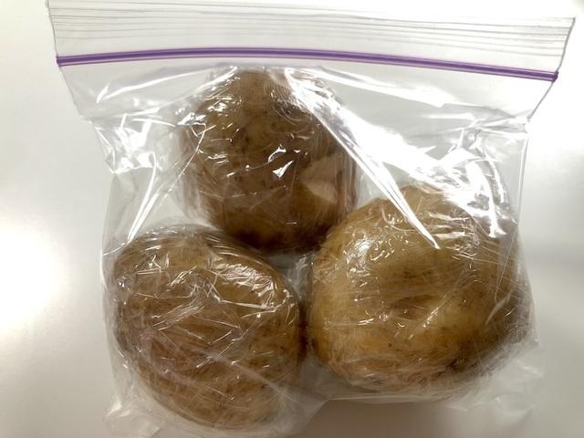 ジャガイモの冷凍保存方法