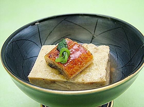 うなぎ卵豆腐
