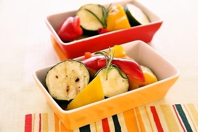 夏野菜のクイックピクルス