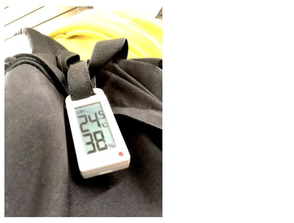 ポータブル温湿度計