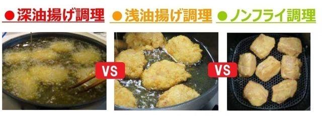 調理方法比較