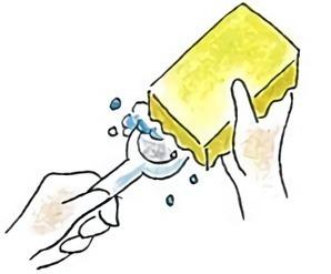 軽量スプーンの洗い方