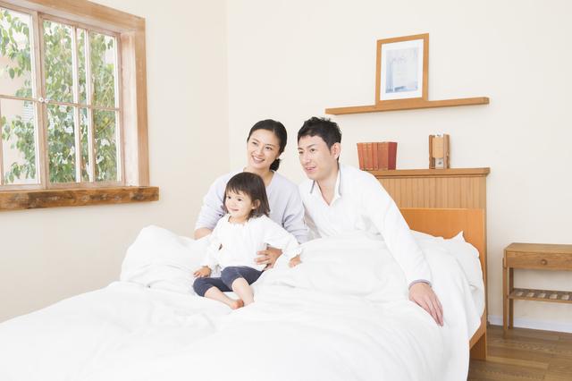 ベッドと布団の割合・メリットとデメリット