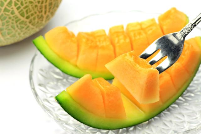 果物のメロン