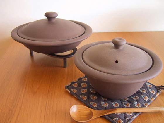 チャビィの土鍋プレート鍋