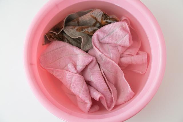 つけ置き洗濯する