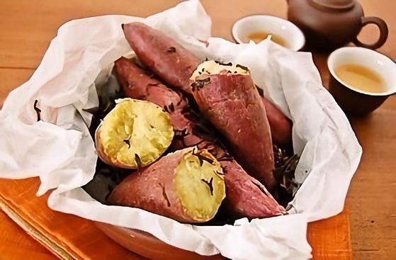 グリルde焼き芋~ジャスミン茶の香り~