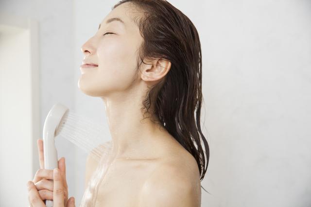 朝シャワー