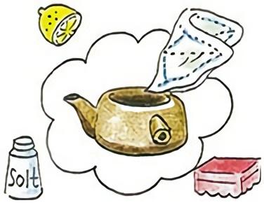 茶渋のとり方