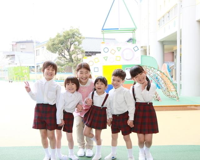 幼稚園児たち
